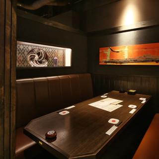 【接待】個室充実の和空間落ち着いた雰囲気自慢の店内
