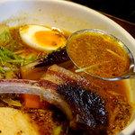奥芝商店 - ラムチョップとラム挽肉のカリー(チキンスープ)1500円
