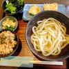 こがね製麺所 - 料理写真:かしわ天うどん(ランチ)