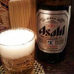 76038364 - 中瓶ビール 594円 2017年11月