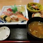 蛇の目寿司 - おまかせランチにぎり