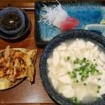 石嶺食堂 - ゆし豆腐定食