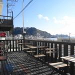 ホア カフェ - ウッドデッキテラスからの眺め