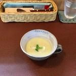 ジャム cafe 可鈴 - ブロッコリーのスープ