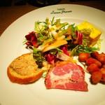 トラットリア ルナピエナ - 前菜盛り合わせ