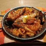 スペイン魚介バル - 魚介パエリア1.5