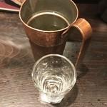 初かすみ酒房 - 初霞純米無ろ過生原酒(600円)