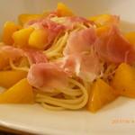 チェリーブラッサム - 柿のパスタ
