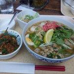 タイレストラン 沌 - タイ風チャーシュー麺にプラスチャーハン