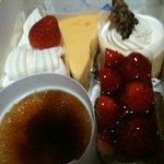 イイダ - クリームブリュレ♪ショートケーキ♪クリームチーズ♪レアチーズ♪ミルフィーユ♪