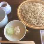 安曇野翁 - おろしそば(1,080円)