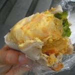 ベジフルカフェ - 昔のポテサラカレー味150円