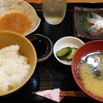 和食 喜友 - 彩野菜ランチ、野菜は後から
