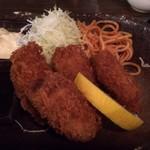 宮崎酒房 くわ - 牡蠣フライ