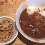 麺dining月乃家 - 豚骨カレー