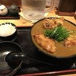 76058044 - 鶏天カレーうどん(930円)