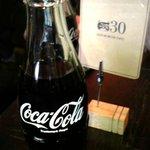 ザッツバーガーカフェ - 瓶コーラ