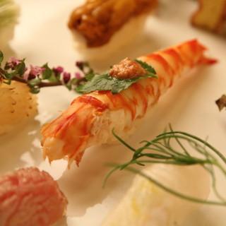 日本酒とお料理・おすしをゆっくり楽しむ、スローフードのお店。