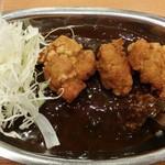 ゴーゴーカレー - 唐揚げカレー、ご飯250g