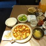 チャイニーズダイニング方哉 - 麻婆豆腐定食950円