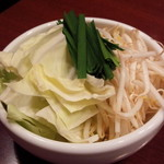 龍 - 野菜盛り