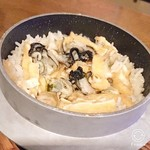 「カキ飯」(冬季限定)
