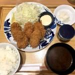 76064844 - カキフライ定食(1,000円)
