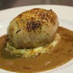 コンヴィエ - 若鶏と栗の包み焼き
