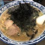 がんこや - 岩のりラーメン(¥750)中盛(+¥100)