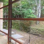 山荘無量塔 - 朝です。気持ちいいね寒いけど