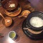 山荘無量塔 - 和食、湯豆腐とか