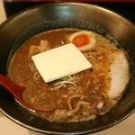 麺乃國 味噌物語 - 【金の炙り味噌バターラーメン】¥900