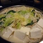 もつ鍋 岩本 - こく味噌もつ鍋