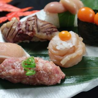 極上の地鶏を堪能できる!他にはない地鶏の創作寿司を是非!