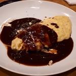 ローマピッツァと窯焼きイタリアン 姫路バル - ふわとろオムレツ