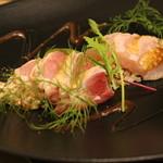 Inazuma Dining - 地鶏のカルパッチョ