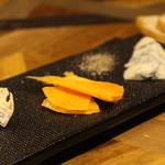 Inazuma Dining - チーズの盛り合わせ