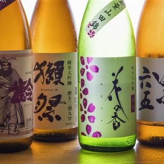 地酒・地焼酎・オーガニックワイン