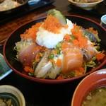 平野鮮魚 - 人気海鮮丼!