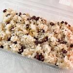 津の山堂 - お赤飯