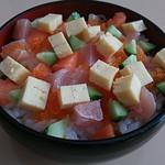札幌海鮮丸 - ばらちらしセットのばらちらし