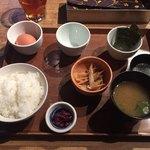 伊右衛門サロン - 薩摩赤玉の玉子かけごはん ¥615-