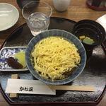 かね正 - きんし丼 ¥1,800-