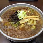 76075973 - 野菜あんかけらぁめん(醤油)730円