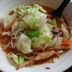 76076011 - 麺二郎野菜(辛みなし)