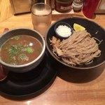 麺匠 たか松 本店 - つけ麺 (鶏魚介) ¥850-