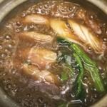 浅野屋 - 鴨の冶部煮鍋仕立て