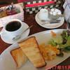 カフェファルファーレ - 料理写真:スクランブルエッグトーストセット \600
