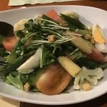 壱献 - 十品目野菜の和風サラダ