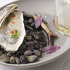 AKI NAGAO - 料理写真:牡蛎と海洋深層水 ドメーヌタカヒコの梅のジャム